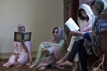 Muhammed Ali için Louisville İslam merkezinde farklı dinlerden katılımcılarla bir anma töreni düzenlendi.