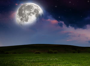 Dreaming of A Full Moon | Moon Dream Meaning