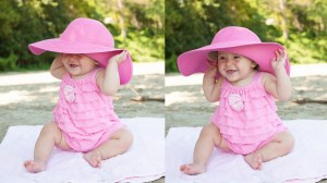 Baby photos on the beach | Landri 6 Mths