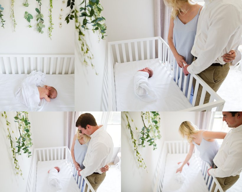 Beautiful white nursery - Aly Dawn Photography