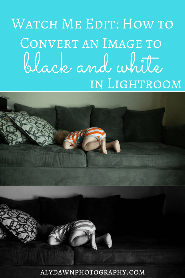 Watch Me Edit: How to Convert an Image to Black and White in Lightroom