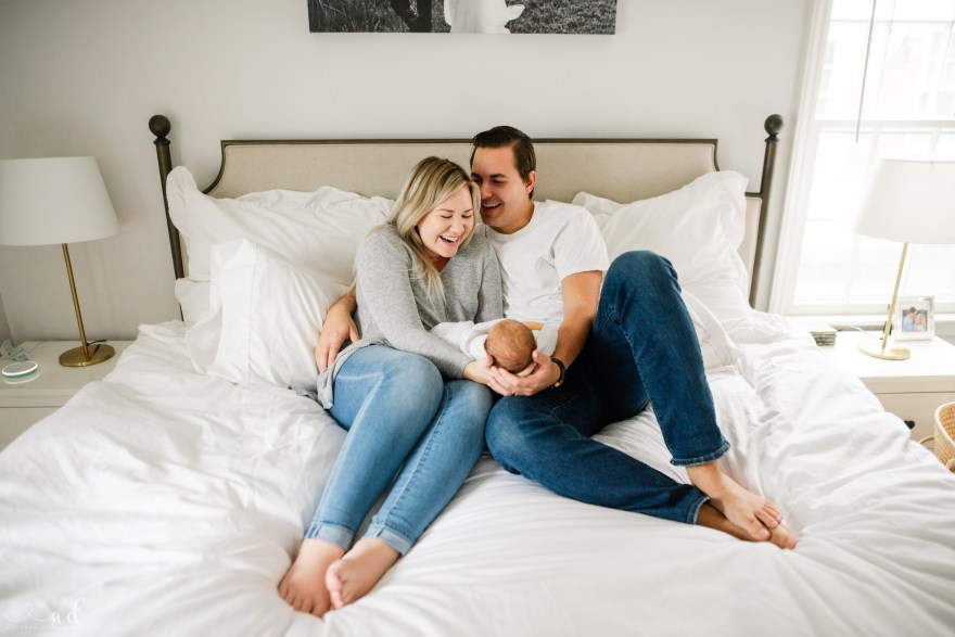 Southern Indiana and Louisville, Kentucky Lifestyle Newborn Photographer