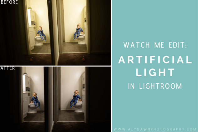 Watch Me Edit: Artificial Light in Lightroom