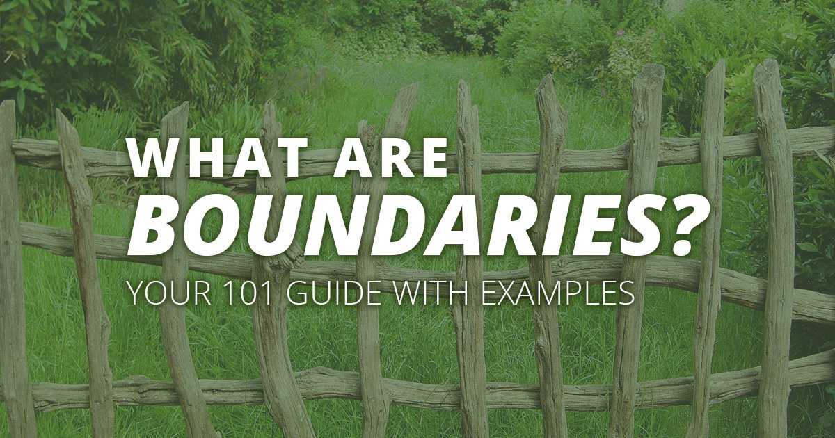 This is the ultimate guide to how to set boundaries for adults and for women who lead busy lives. We talk about defining boundaries, examples of boundaries, where we have control in our life, and more.