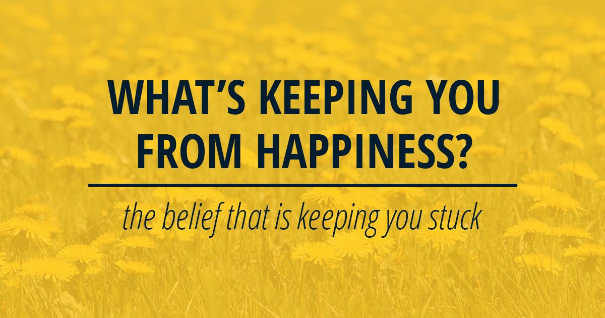 Happiness is an inside job. Here's how to be happy.