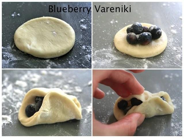 blueberry Vareniki