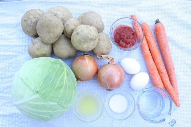 ingredient potato golubsti