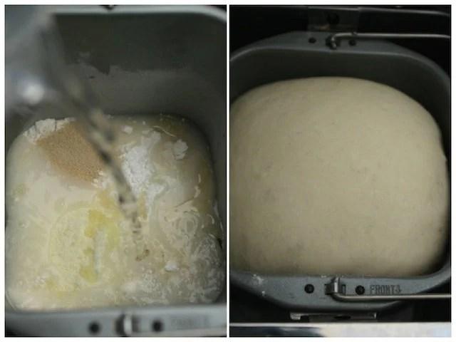 bread machine step 1 pizza