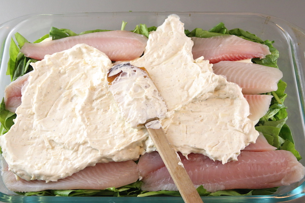 creamy-baked-tilapia-spinach-casserole-step