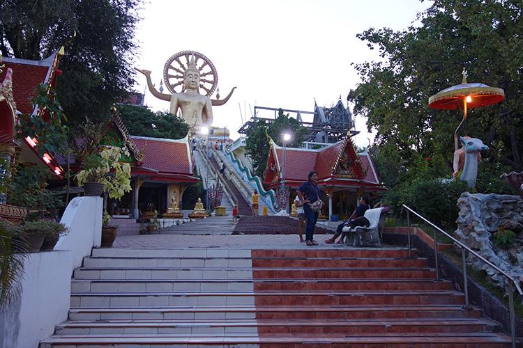 Big Buddha Temples Koh Samui Thailand