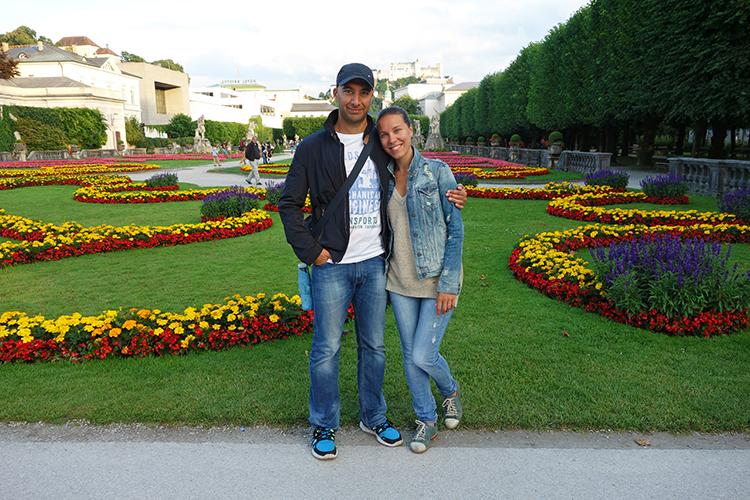 Us in Salzburg Austria