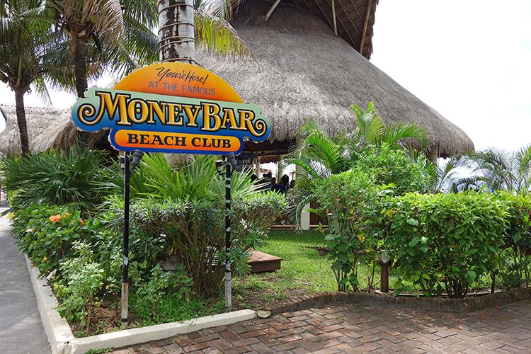 Money Bar Beach Club Cozumel Mexico