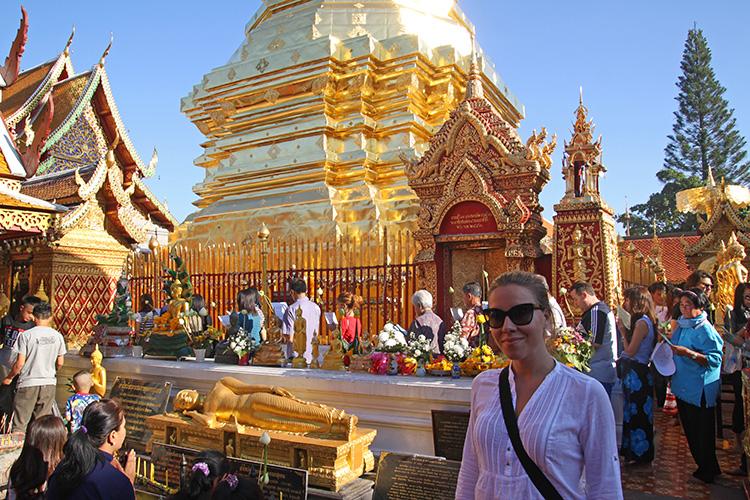 Me at Doi Suthep Chiang Mai