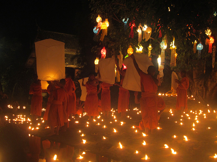 Buddhist New Year Our New Year's Eve wit...