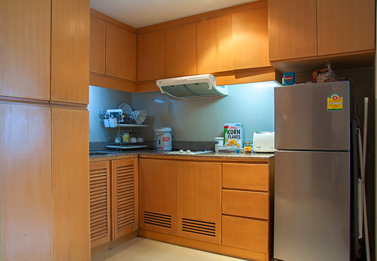 Our Kitchen in Twin Peaks Condo in Chiang Mai