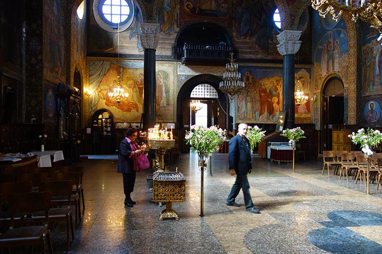 St.Nedelya Church in Sofia
