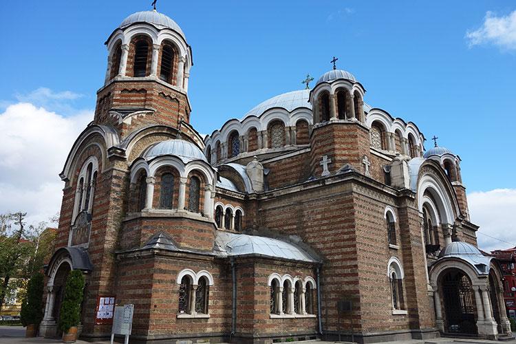 Temple Sveti Sedmochislenitsi in Sofia