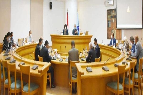 اللجنة الإدارية العليا لمعرض القاهرة الدولي للكتاب تعقد اجتماعها الأول