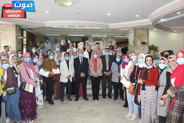 رئيس دار الكتب والوثائق تشهد حفل ختام تدريب طلبة الجامعات