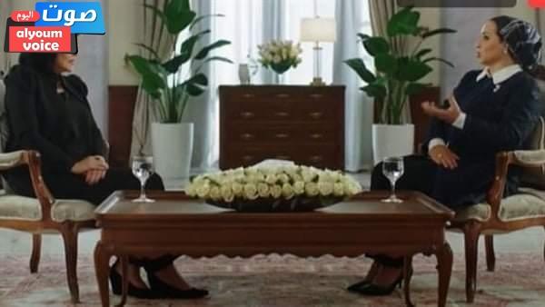 السيدة الأولى: الرئيس السيسي لديه طبيعة خاصة وما يسعده أن يرى إنجازًا جديدًا ينفع الناس