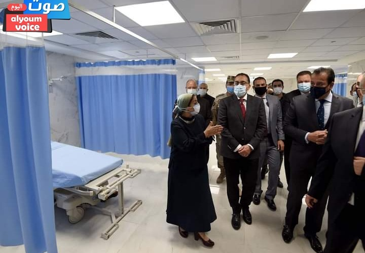 رئيس الوزراء يتفقد أعمال تطوير قسم الطوارئ ليصبح مستشفى الاستقبال والطوارئ بقصر العيني