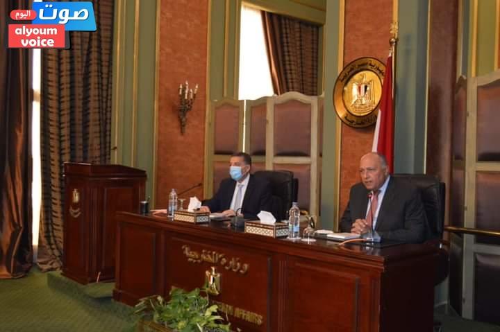 """""""شكري"""" يوجه بتكثيف التحرك الدبلوماسي دفاعًا عن الموقف المصري تجاه التحديات الإقليمية والدولية"""