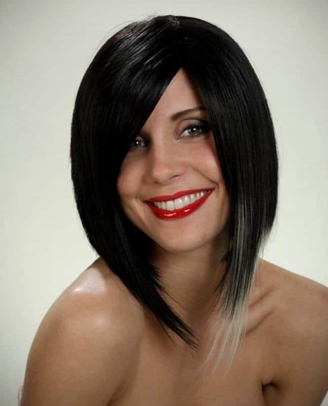 A-Line-Bob-with-Highlights 12 Breathtaking Long A-line Haircuts for Women 2020