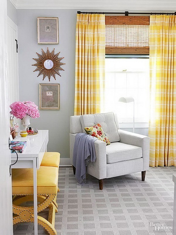 Adding-Yellow-Accents-To-A-Room-1 Decorating With Yellow: How To Brighten Your Space With Yellow