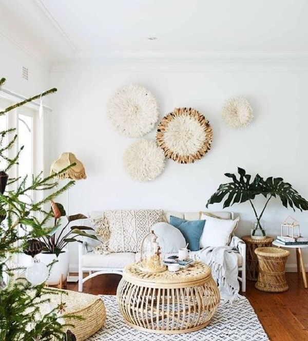 Boho-chic-living-room-decoration Chic Bohemian Interior Design Ideas