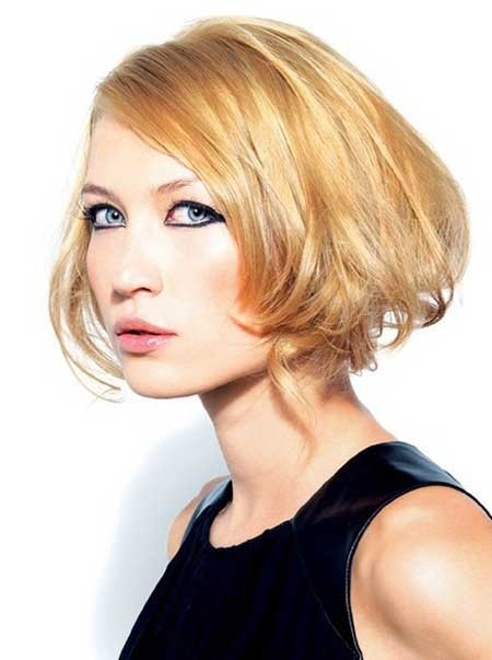 Cool-Slightly-Mussy-Bob-Hairstyle Best Bob Cuts for 2020