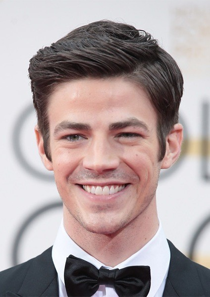 Grant-Gustin-Short-Straight-Hairstyle Most Coolest And Hottest Formal Haircuts For Men