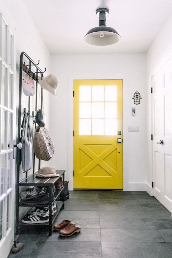 Paint-Your-Doors-In-A-Welcoming-Yellow-4 Decorating With Yellow: How To Brighten Your Space With Yellow