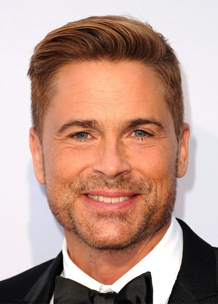 Rob-Lowe-Short-Straight-Hairstyle Most Coolest And Hottest Formal Haircuts For Men
