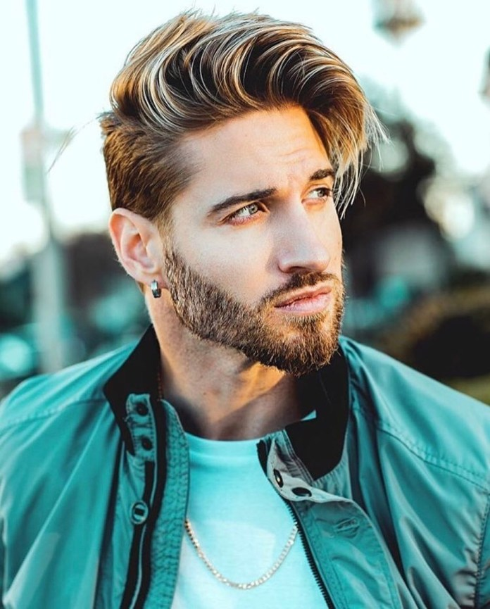 Side-Parted-Long-Hair Mens Hair Trends – Mens Hairstyles 2020