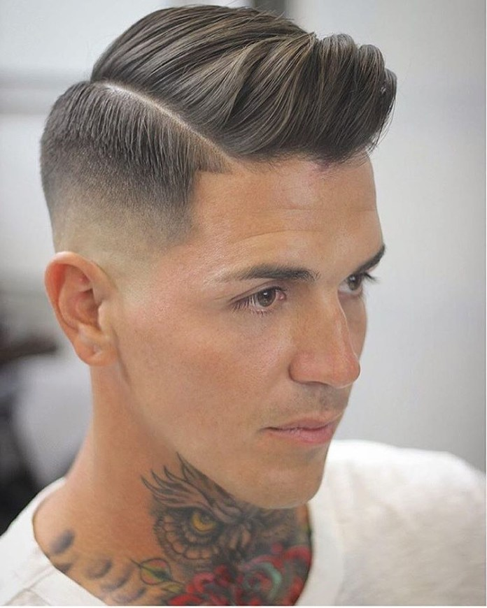 Side-Parted-Undercut Mens Hair Trends – Mens Hairstyles 2020