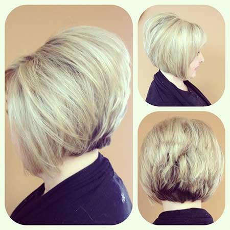 Stacked-up-Bob-Hairstyle Best Bob Cuts for 2020
