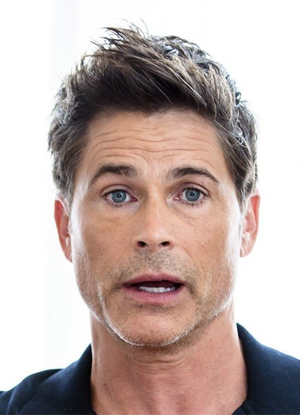 Stylish-Rob-Lowe-Short-Straight-Hairstyle Most Coolest And Hottest Formal Haircuts For Men