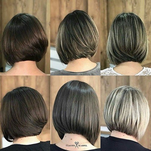 Cute-Angled-Bob-Hair Best Back of Bob Haircut Pictures