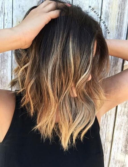 Hair-Color-Ideas-for-Short-Hair-001-ohfree.net_ Popular Balayage Hair Color Ideas for Short Hair