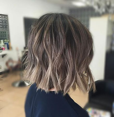 Hair-Color-Ideas-for-Short-Hair-019-ohfree.net_ Popular Balayage Hair Color Ideas for Short Hair