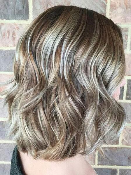 Hair-Color-Ideas-for-Short-Hair-021-ohfree.net_ Popular Balayage Hair Color Ideas for Short Hair