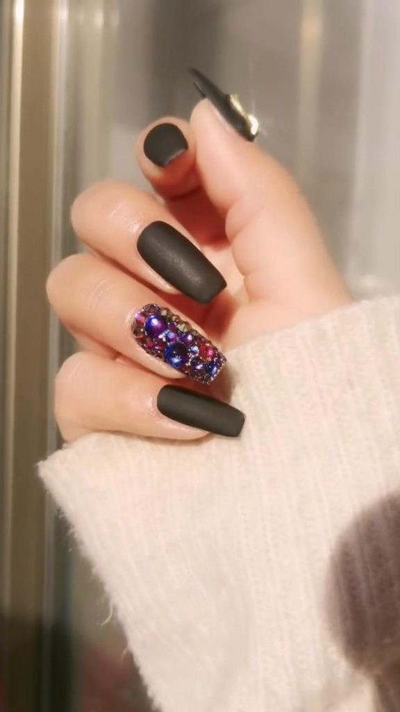 Matte-Nail-Art-Ideas-5 2020 Nail Trends to Inspire Your Next Manicure #1 -  DIY Nails Compilation