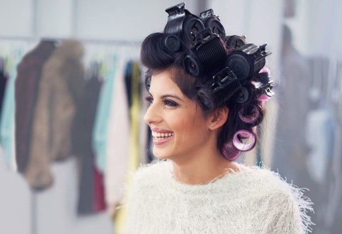 Roll-Your-Hair How to Create the Perfect 'Blow Out' with a Hair Dryer