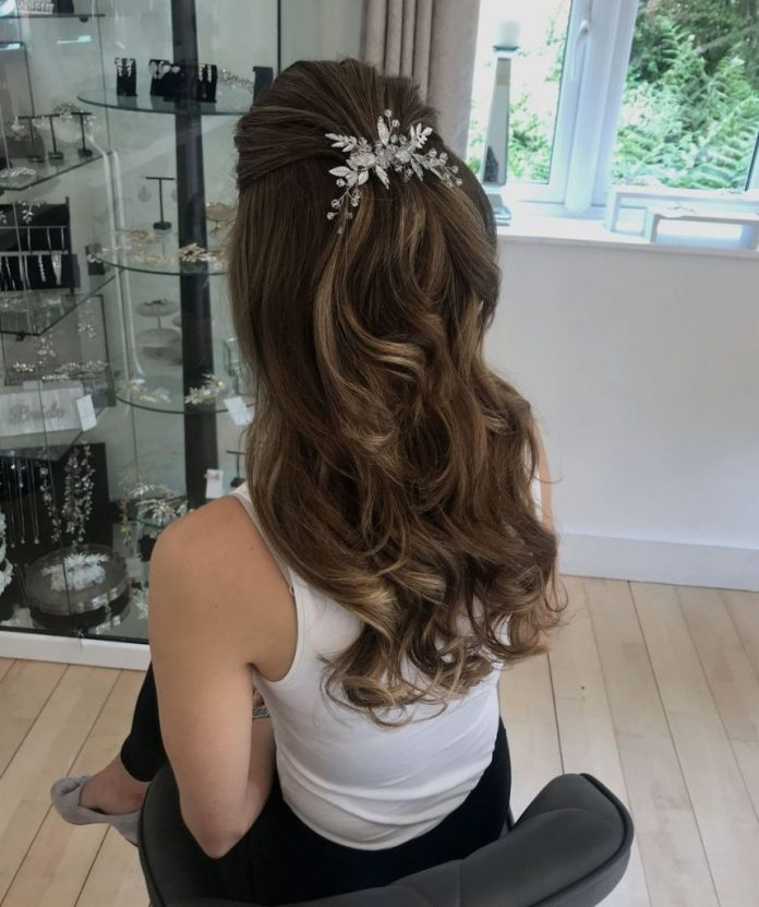 Bridal-Hair-Ideas-To-Look-Fabulous-002-ohfree.net_ Bridal Hair Ideas To Look Fabulous On Your Wedding Day