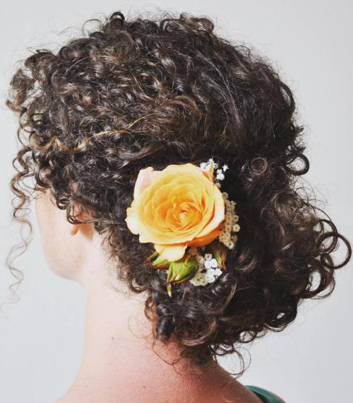 Bridal-Hair-Ideas-To-Look-Fabulous-008-ohfree.net_ Bridal Hair Ideas To Look Fabulous On Your Wedding Day