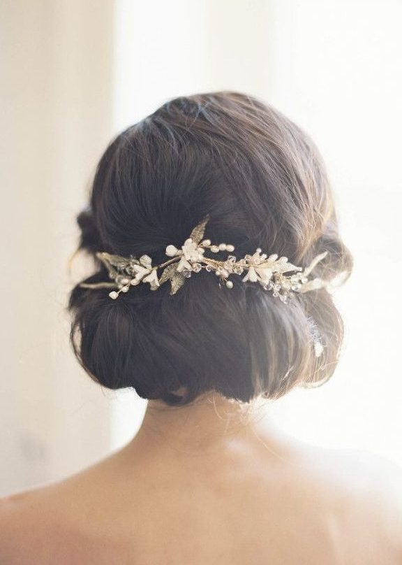 Bridal-Hair-Ideas-To-Look-Fabulous-030-ohfree.net_ Bridal Hair Ideas To Look Fabulous On Your Wedding Day