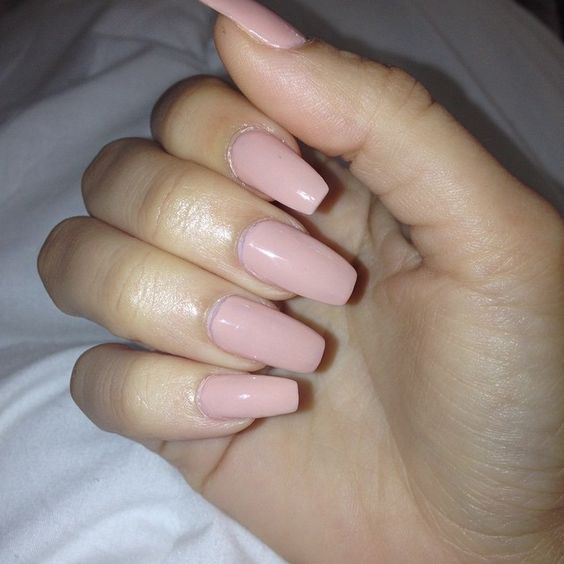 The-pale-pink-nail-colors-to-enhance Perfect Ideas for Pink Nails to Finish Feminine Look