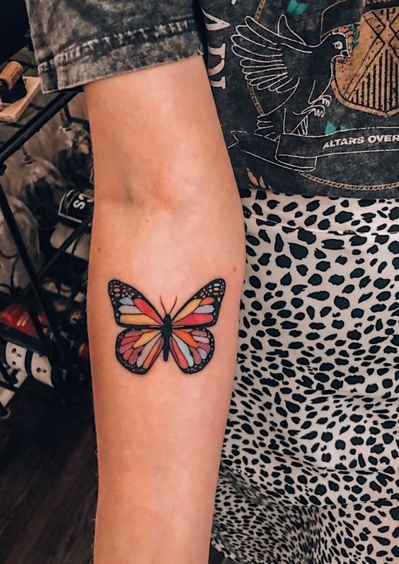Impressive-and-Meaningful-Butterfly-Tattoos-That-Rock-14 27 Impressive and Meaningful Butterfly Tattoos That Rock 2020