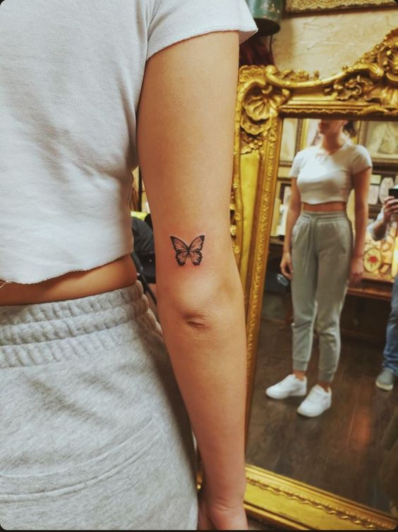 Impressive-and-Meaningful-Butterfly-Tattoos-That-Rock-3 27 Impressive and Meaningful Butterfly Tattoos That Rock 2020