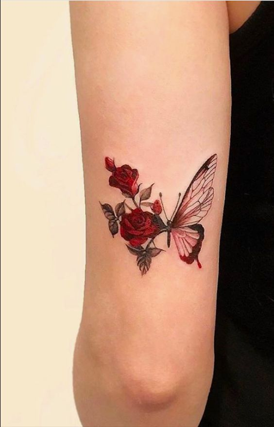 Impressive-and-Meaningful-Butterfly-Tattoos-That-Rock-6 27 Impressive and Meaningful Butterfly Tattoos That Rock 2020